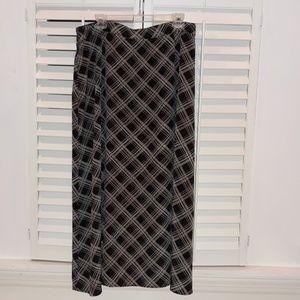 PLUS Lane Bryant Maxi Skirt